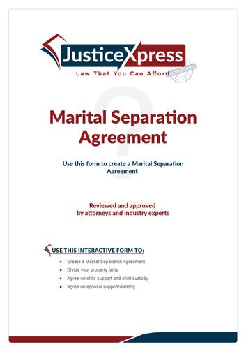 Marital Separaion Agreement