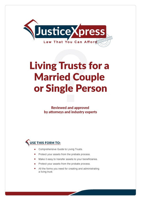 Living Trusts for a Married Couple or Single Person