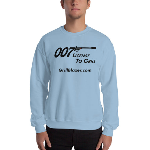 License To Grill Sweatshirt