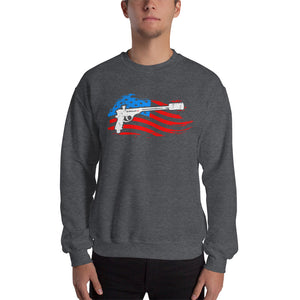 GrillGun Flag Sweatshirt