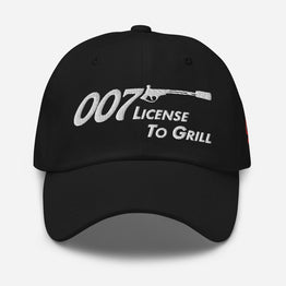 License To Grill Ballcap