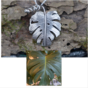 Monstera Deliciosa Necklace