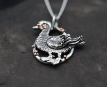 Load image into Gallery viewer, Poncho the Muscovy Duck Pendant