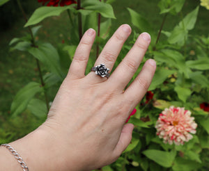 Handformed Rose Ring
