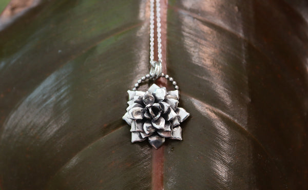 Succulent Necklace