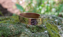 Load image into Gallery viewer, Until All Are Free Copper Cuff-Cuffs-The Striped Cat Metalworks
