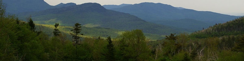 The White Mountains in New Hampshire that inspired the rings.