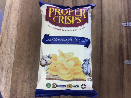 Proper Crisps Marlborough Sea Salt