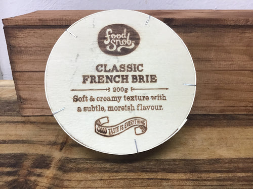 Food Snob French Brie 200g