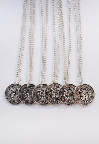 Frank Coin Necklace