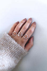 Women's Face Ring