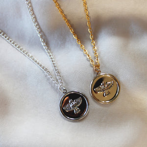 Eagle Coin Necklace