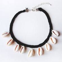 Load image into Gallery viewer, Cowrie Shell Choker