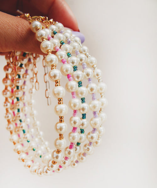 Pearl Beaded Anklet