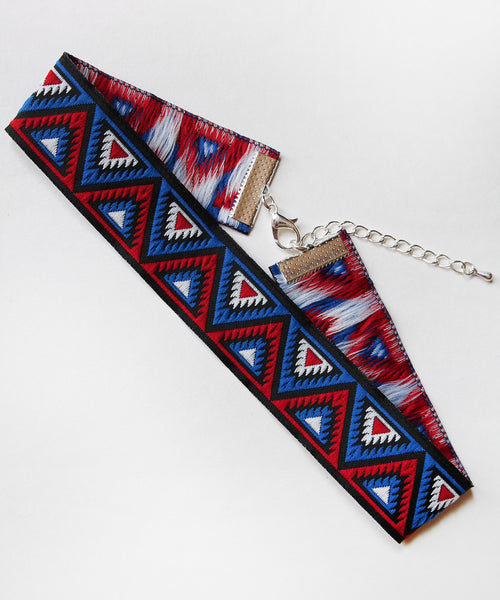 Aztec Cotton Choker