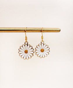 Daisy Charm Earrings