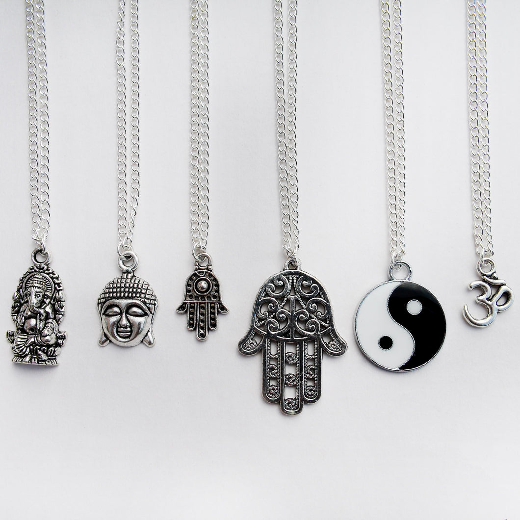 Spiritual Charm Necklaces