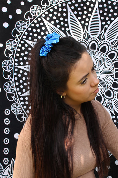 Metallic Scrunchies - 6 Colours