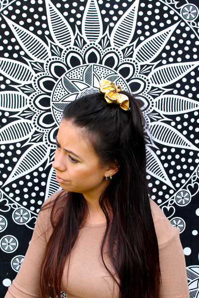 Metallic Scrunchies - 5 Colours