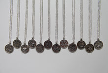 Load image into Gallery viewer, Zodiac Coin Necklace