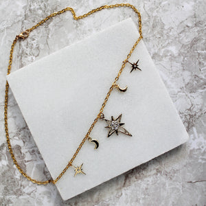 Nights Sky Necklace