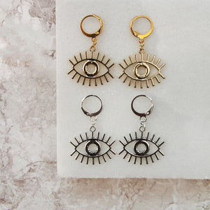 Pretty Eye Hoops