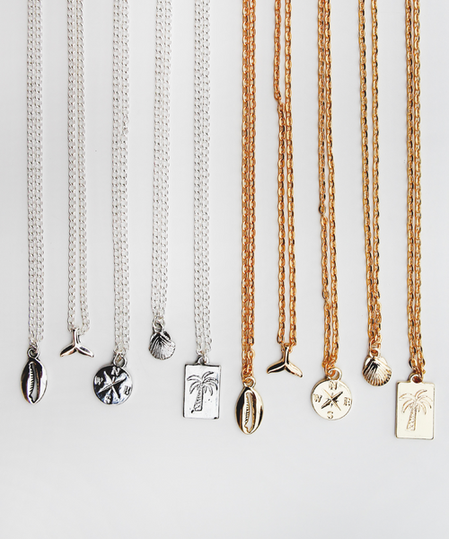 Beach Charm Necklaces