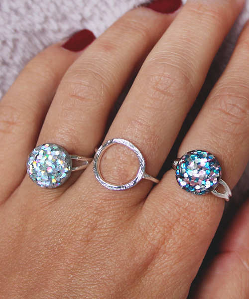 Disco Ball Rings