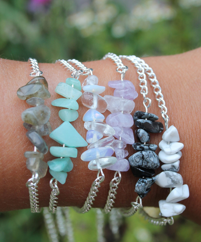Gemstone Bracelet - 6 Colours