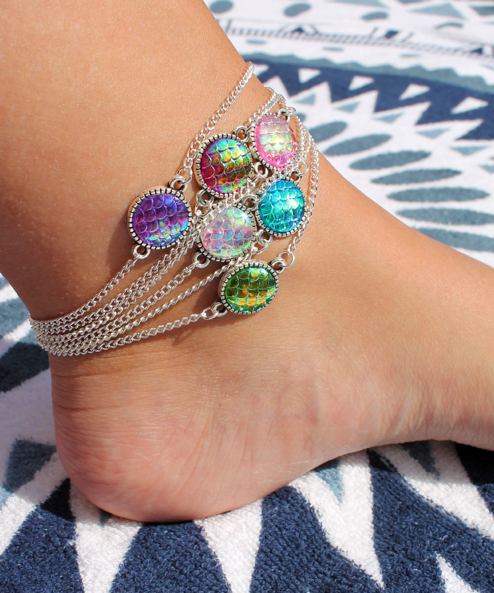 Mermaid Anklet - 6 Colours