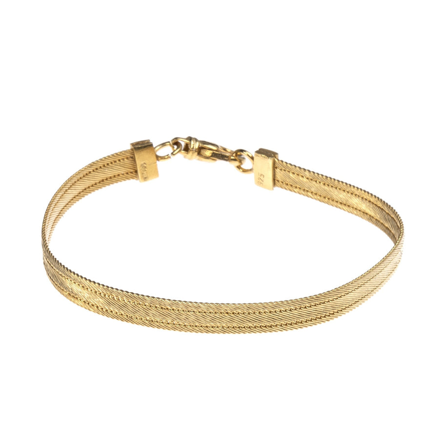 Pontic Bracelet Thin  (gold-plated)