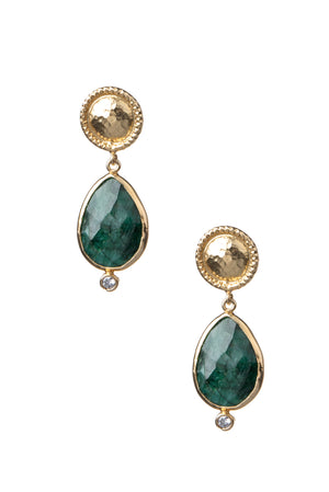 Penelope at the Saray Earrings