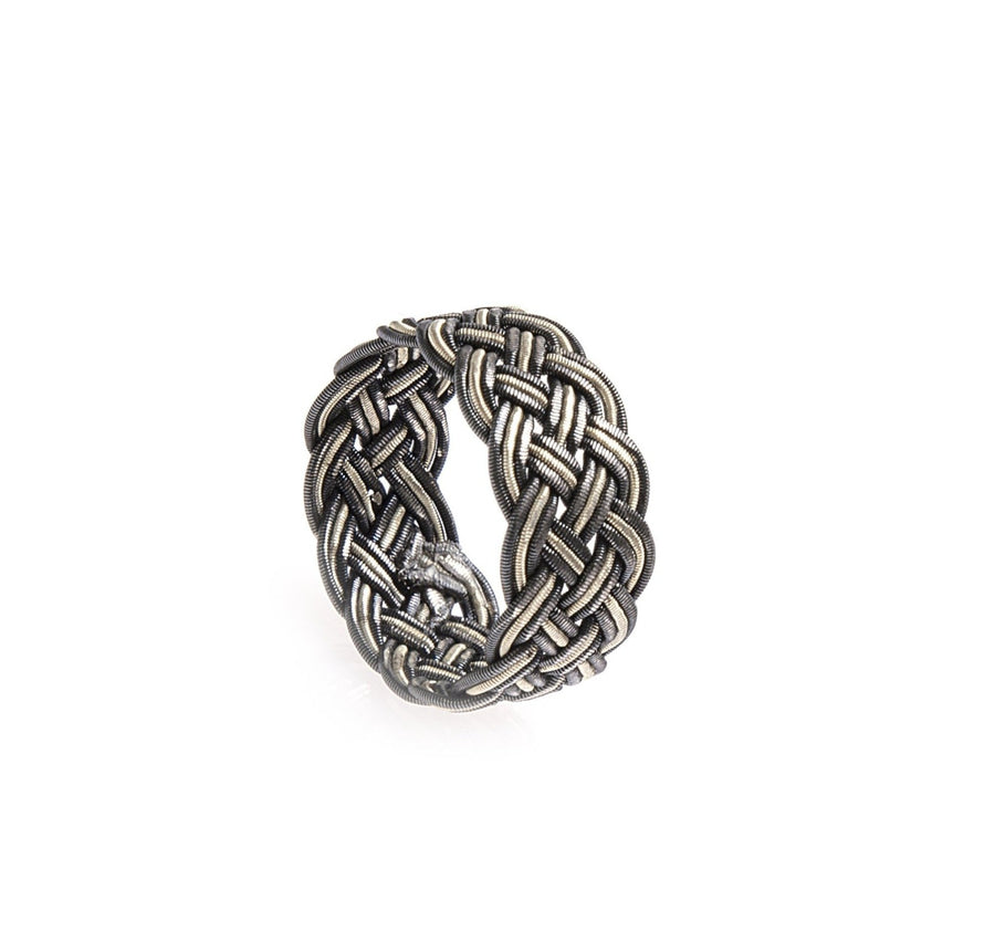 Woven Silver Ring - Ordu