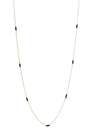Trinity Bead Necklace (long)