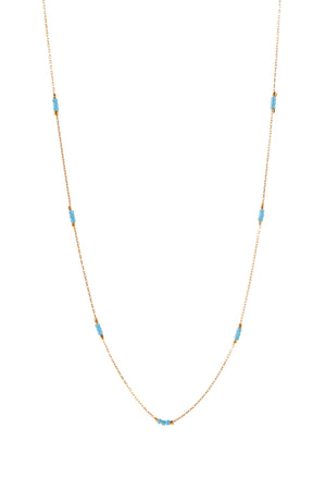 Trinity Bead Necklace (short)