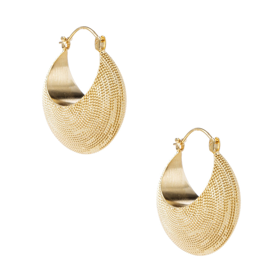 Gold Filigree Crescents (medium)