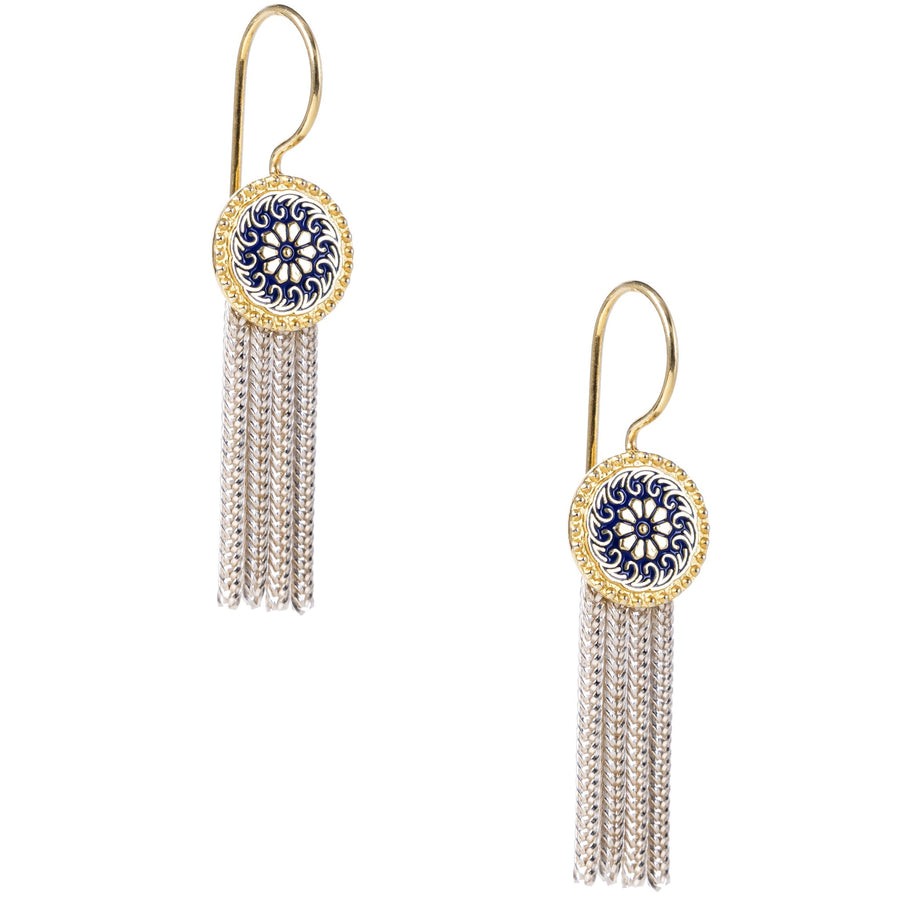 Floral Hatay Fringe Earrings