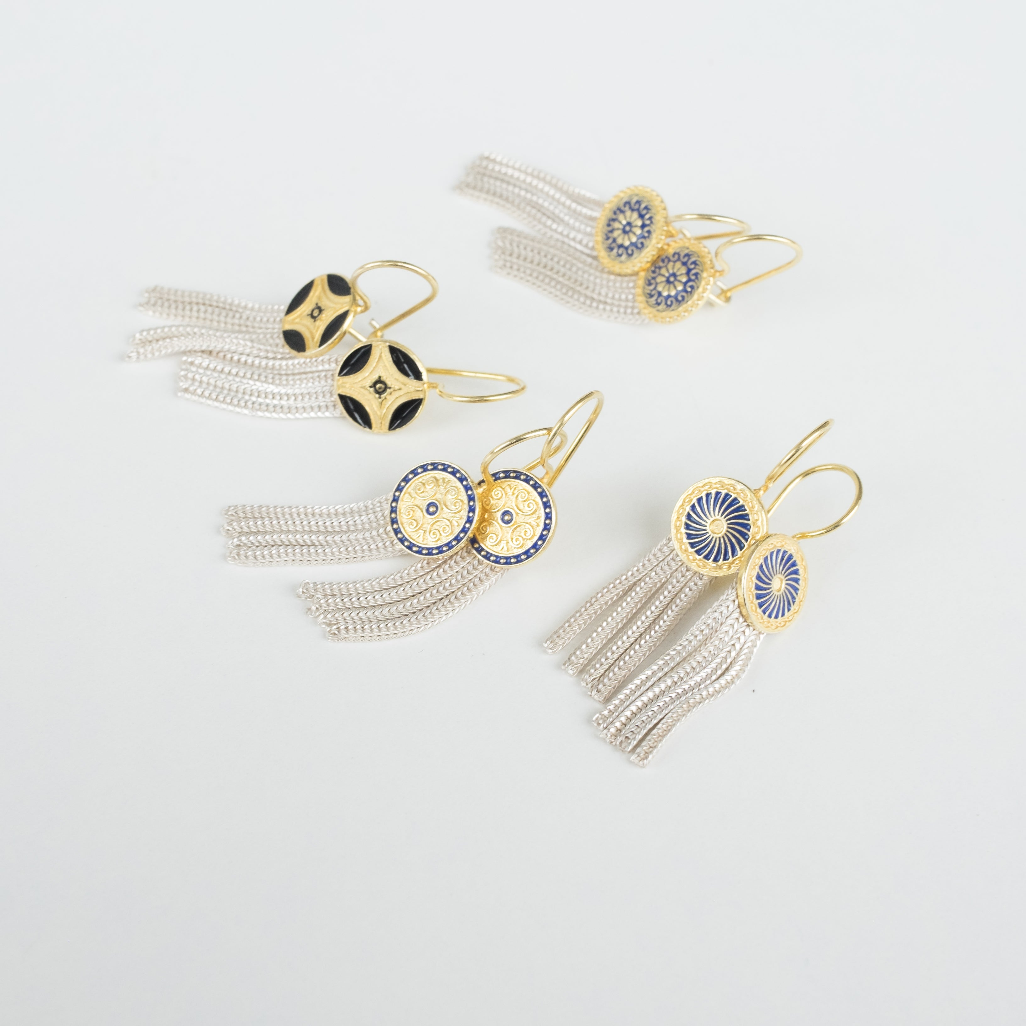 Starburst Hatay Fringe Earrings