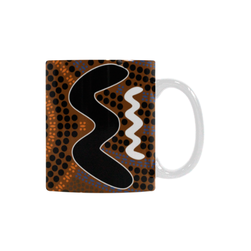Color Of Aboriginal White Mugs