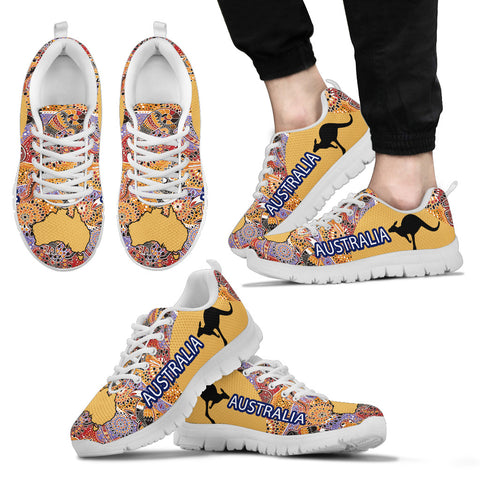 Australia Shoes Map Australia Pattern Sport Version Th9