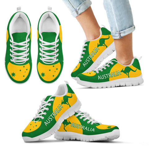 Image of Australia Shoes Green And Yellow Sport Version Th9