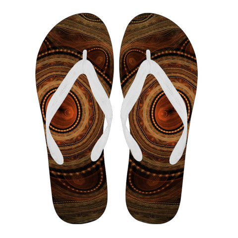 Image of Australia Flip Flops Aboriginal 08 TH1
