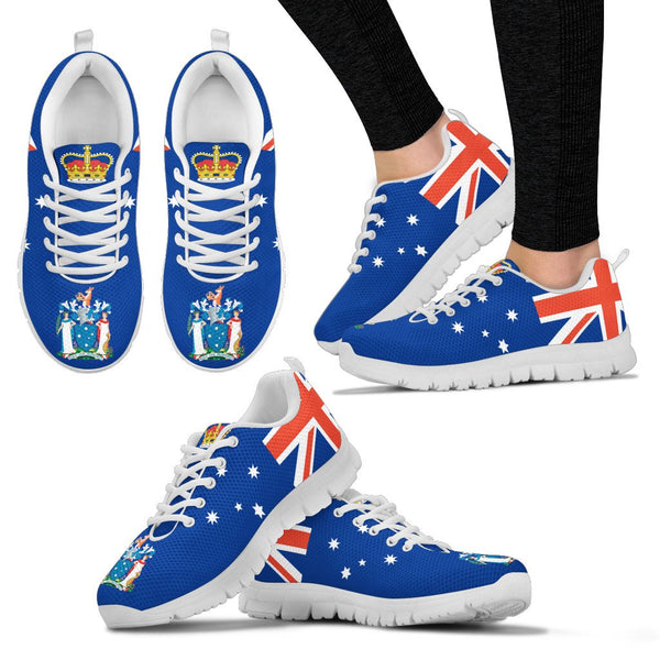 1stAustralia Sneakers - Australia Fag Shoes Victoria Flag And Coat Of Arms - Unisex - Nn6