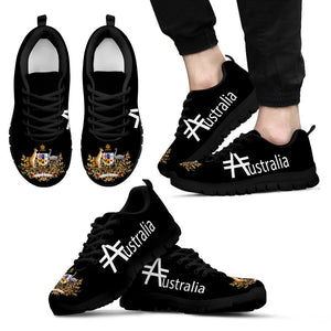 Australia Shoes- Australia Hashtag MenS/WomenS Sneakers Nn8 1ST