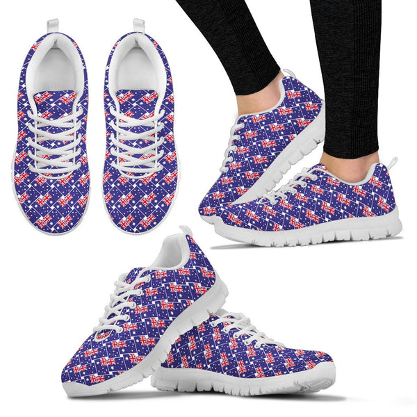1stAustralia Sneakers - Aus Flag Shoes Seamless - Unisex - A3