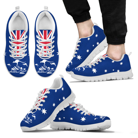 Image of Australia Flag Kangaroo Beautiful Sneakers