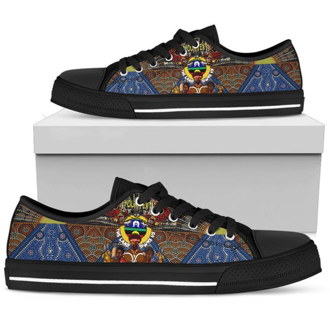 (Custom Text) 1stAustralia The Land Owns Us Low Top Shoe - BN21