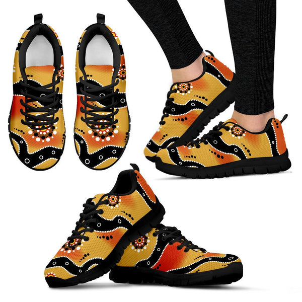 1stAustralia Aboriginal Sneakers, Indigenous Patterns - 02 Nn8