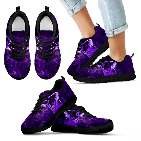 1stAustralia Sneakers - Koala Shoes Smoke Purple Mysteria - Unisex - Th9