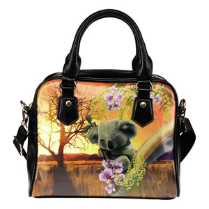 Australia Shoulder Handbags Koala Sleeping